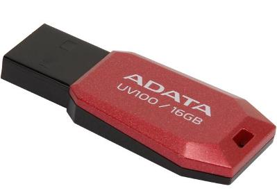USB 2.0 PEN DRIVE 16GB ADATA AUV100-16G-RRD Red