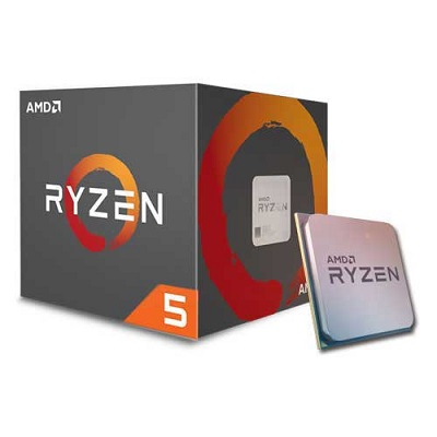 CPU AM4 AMD RYZEN 5 1400 4 CORES 3.2GHZ (3.4GHZ) BOX