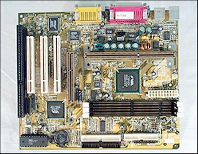 MB Biostar PII/III Slot 1 M6VBE-A VIA693A  UATA 66 + SB, 1xAGP, 3x PCI, FSB 66/100, micro ATX, OEM