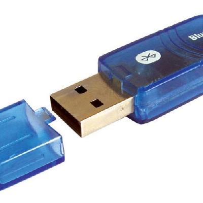 Bluetooth USB, 100m, Wiretek, Transparent Grey, Retail, Hang Pack