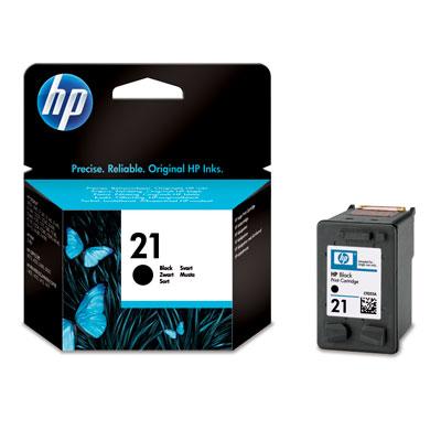 Cartridge HP No.21 C9351AE Black, 5 ml, 190 strana (D1460/D1560/D2460/J3680/F2180/F2280/F4180)