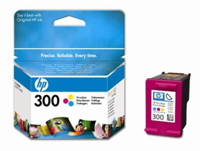 Cartridge HP No.300 CC643EE Color, 4 ml, 165 strana (DJ1660/DJ2560/DJ2660/F2480/F4280)