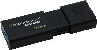USB 3.0 FLASH DRIVE 32GB Kingston DT100G3/32GB