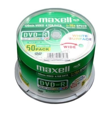 DVD-R MAXELL 4,7 GB 16X 50/1