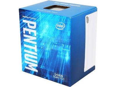 CPU 1151 INTEL Dual Core G4400 3.30GHz 3MB BOX