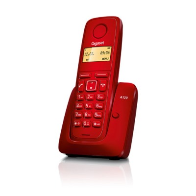 Bežični telefon GIGASET A120 Red