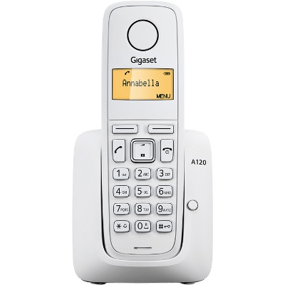 Bežični telefon GIGASET A120 White