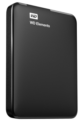 "Western Digital Elements Portable 1TB 2.5"" WDBUZG0010BBK-WESN"