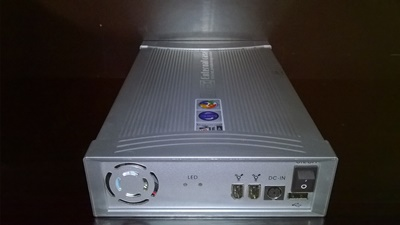 """DVD/CD Rack External  5,25"""" USB 2.0 Intex, Retail + Firewire IEEE 1394 Combo, sa eksternim ispravljačem"""