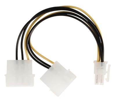 Kabl 2X4P F na 6P M za napajanje PCI Expres graficke, VLCP74210V015, Valueline