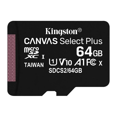 Micro SD kartica KINGSTON 64GB SDCS2/64GBSP Class 10