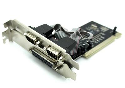 Kontroler PCI 1 paralel + 2 serijska RS232 porta, NEWMB, N-S9865-1P2S