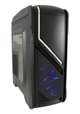 Tower LC POWER GAMING 979B SILVER STRIKE USB3.0 BLACK