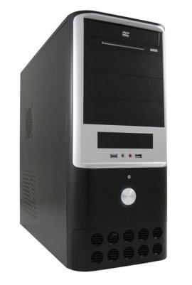 Midi Tower LC Power 7005B 420W-12 USB3.0 Black