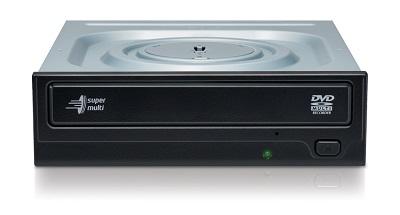 Hitachi/LG GH24NSD5 SATA Bulk Black 24x