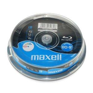 BD-R MAXELL BLU RAY 25GB 4X