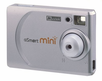 Digitalna kamera Mustek G Smart mini, 1024x768, 8 MB, Video clip 320x240 30 fpr, USB