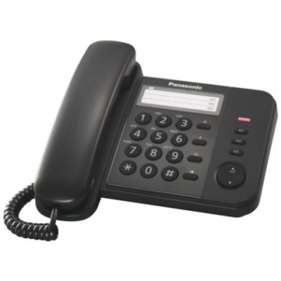 Žični telefon PANASONIC KX-TS520FXB crni