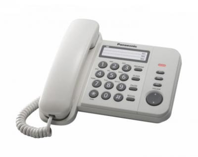 Žični telefon PANASONIC KX-TS520FXW beli