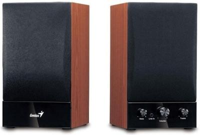 Zvučnici Genius SP-HF 1250B, 40W RMS, Wooden