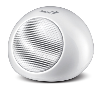 Zvučnici Genius SP-I 170 White 2W RMS, Mini Portable