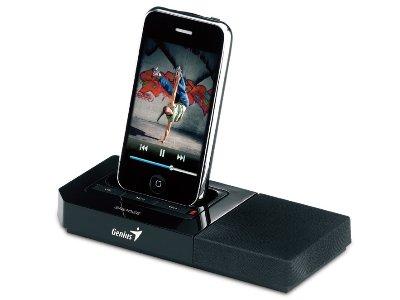 Zvučnik Genius SP-i500 za iPhone/iPod (+ funkcija punjača)