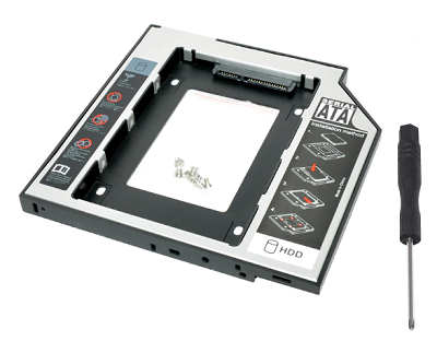 SSD adapter za notebook 9,5mm SATA - Caddy NEWMB N-CASE