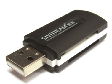 FLASH CARD R.USB2.0 SYOTEAM SY-596