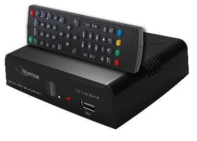 DVB-T2 TUNER TV STAR T517