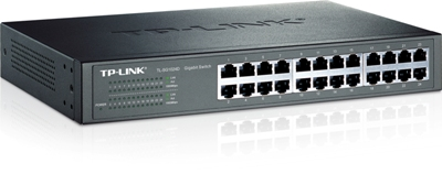 Switch 10/100/1000 MBit UTP 24port TP-Link TL-SG1024D, Retail