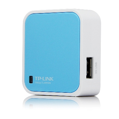 Wireless N nano router TP-LINK TL-WR702N 150MB/S  2,4GHZ