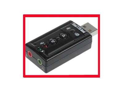 Sound Blaster USB 7.1ch virtual