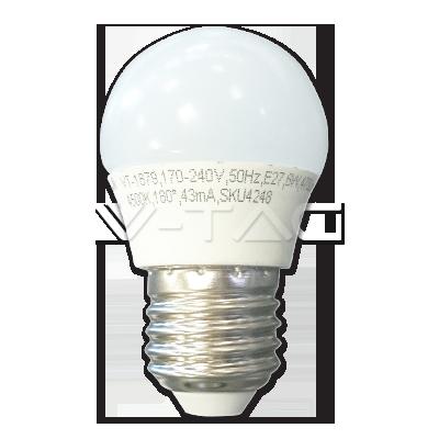 LED SIJALICA V-TAC E27G45-6W 2700K 4247