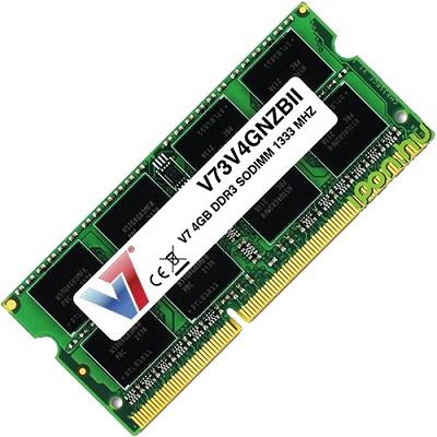 DDR3 4GB 1333MHz V7 V7106004GBS-SR SODIMM 1.5V