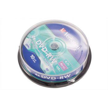 DVD-RW Verbatim 4,7 GB 4X 10/1