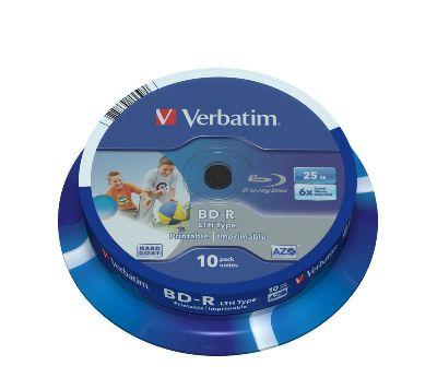 BD-R VERBATIM BLU RAY 25GB 6X