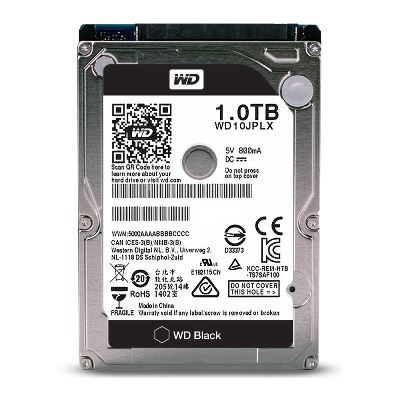 "HDD 2.5"" WD Black 1TB WD10JPLX , 16MB SATA3 7200rpm"