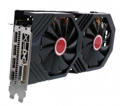 XFX RX-580P8DFD6 RX 580 8GB OC+ DDR5 256bit