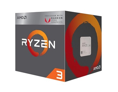 CPU AM4 AMD RYZEN 3 2200G 4 CORES 3.5GHZ (3.7GHZ) BOX