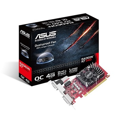 ASUS R7240-O4GD5-L 128bit