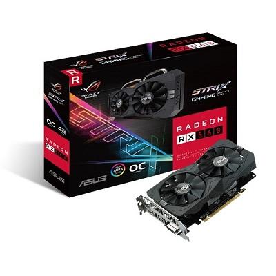 ASUS ROG-STRIX-RX560-O4G-GAMING GDDR5 128bit