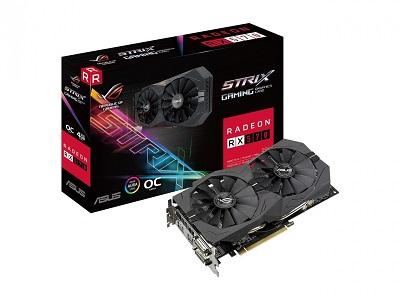 ASUS ROG-STRIX-RX570-O4G GDDR5 256bit