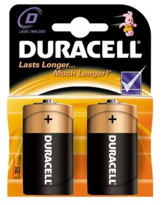 Baterija Duracell Alkalna 1,5V LR20,  komad