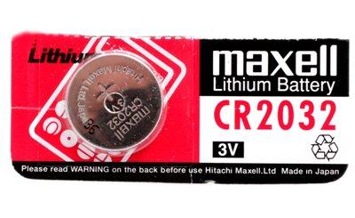 Baterija Lithium 3V MAXELL CR2032