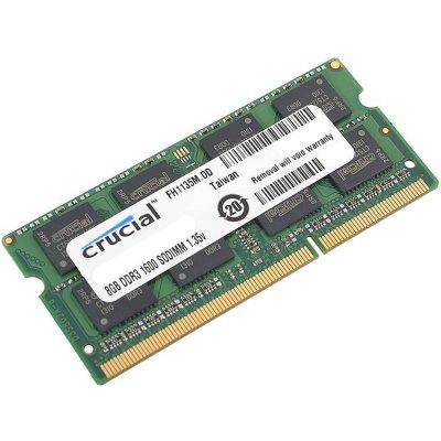 DDR3 8GB 1600MHz Crucial CT102464BF160B SODIMM