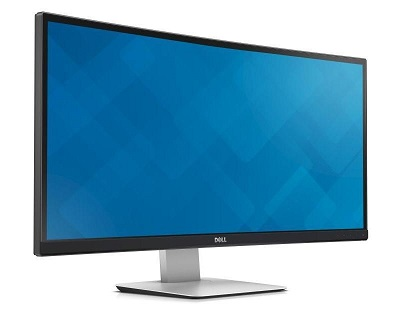 """Monitor 34"""" DELL U3415W UltraSharp zakrivljeni WQHD IPS LED"""