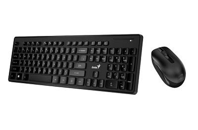Genius SlimStar 8006 bežična+bežično-optički miš YU USB, black