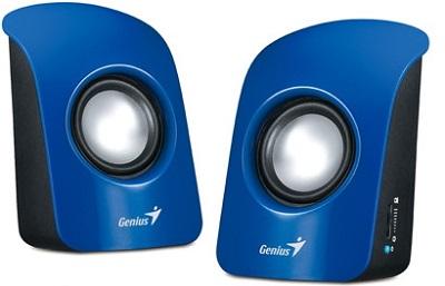 Zvučnici Genius SP-U115, USB, Blue 3W RMS