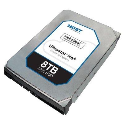 """HGST HUH728080ALE604 Ultrastar HE8 3.5"""", 8TB, 128MB, 7200 RPM, SATA3"""