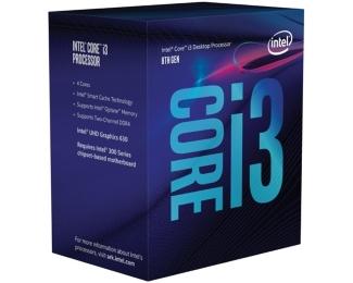 CPU 1151 INTEL Core i3-8300 4-Core 3.7GHz Box